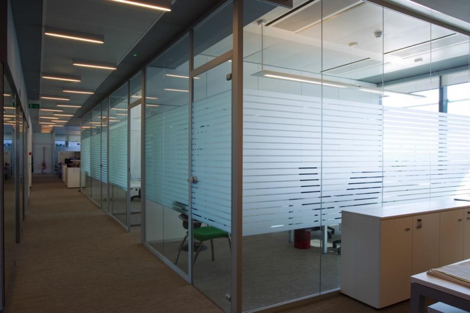 Pareti vetrate e in cristallo direzionali maiglass mainardi - Pareti vetrate esterne ...