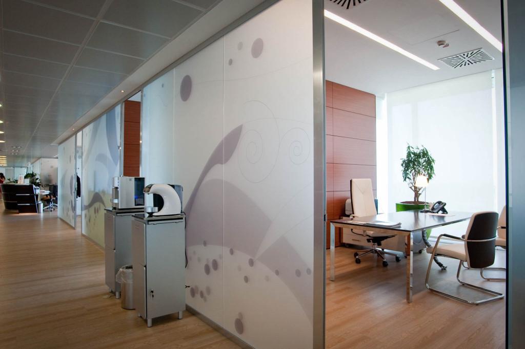 pareti ufficio Gruppo Argenta