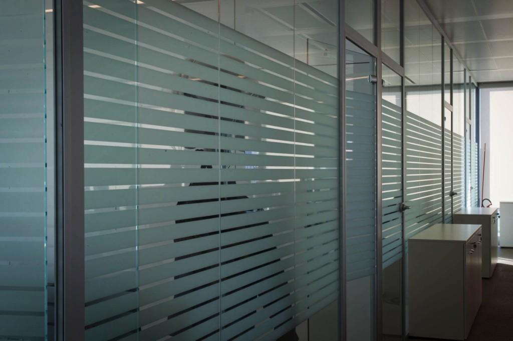 pareti vetrate schneider milano